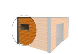 Fenêtre à Soufflet 120x60 cm (l,h)