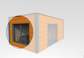 Fenêtre 2 Vantaux 180x180 cm (l,h)