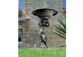 Fontaine de Jardin en Fonte Circuit Fermé Angelot