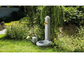 Fontaine de Jardin en Polyéthylène Imitation Pierre Garantia Venezia