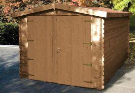 Garage Bois Mésange Traité (300x500x239) 34 mm