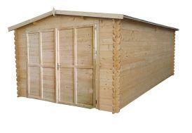 Garage Bois Mésange (300x500x236) 28 mm