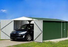 Garage en Métal Hervey 6x3m Absco Vert