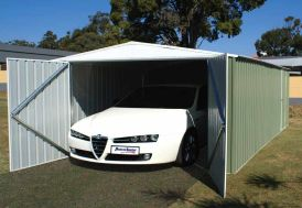 Garage Métal 1 Voiture (3x6x2,10) Absco
