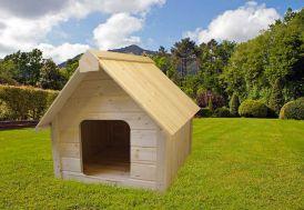 Niche à chien en Bois 94x113x95cm