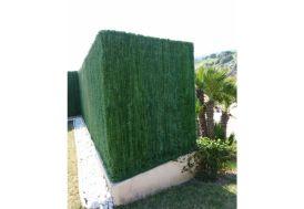 Haie Artificielle 110 Brins 3x1,5m Vert Pin