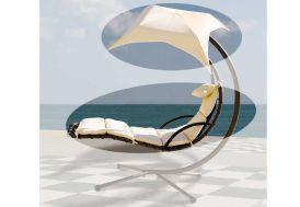 Coussin + Toile Hamac Celest (Coloris Blanc)