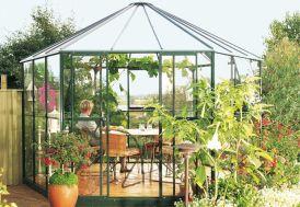 Serre de jardin en verre HERA 9000 Scolopax