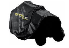 Housse de Protection pour Tondeuse Autoportée 130X264X100 cm