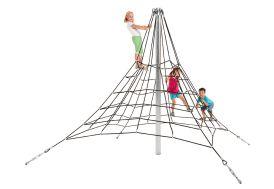 Aire de jeux pour collectivités cordes à grimper KBT 2,70 m