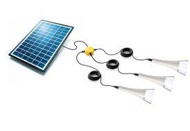 Kit Eclairage Solaire Autonome T-Lite x3