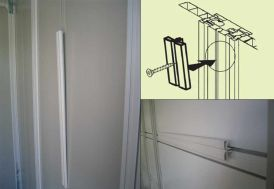 Kit de fixation pour Abri PVC Grosfillex