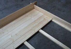 Plancher abri OSB (28-34-44) 3/2 TR