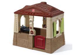 Cabane pour Enfants en Plastique Maison de Jardin Neat Cottage