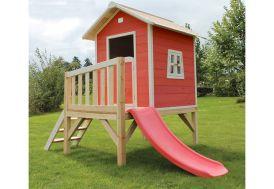 Maison pour Enfant Bois sur Pilotis Rouge Beach