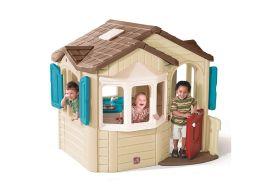 cabane de jardin pour enfants en plastique rotomoulé à partir de 1 an et demi