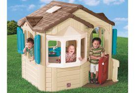 Maisonnette Enfant Plastique Welcome Home 185x168x168cm