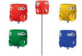 Panier à Ballon Octopus pour Collectivités (4 coloris)