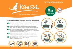 Panneau de Consignes Trampoline Collectivités Kangui