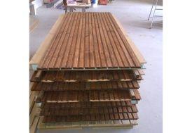 Panneau en Bois Plein Isolé 120 x 230 cm (l,h) pour Bungalow