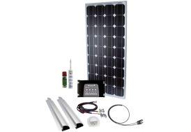 panneau solaire à emporter 100W 12V pour toit de camping-car
