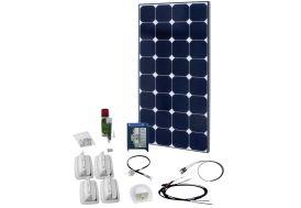 panneau solaire 100W pour batterie 12V avec régulateur de charge 20A