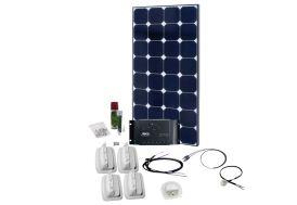 Panneau Solaire de Voyage 100W 12V Kit Solar Peak One 5.0