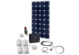 Panneau Solaire de Voyage 100W 12V Kit Solar Peak Two 4.0