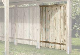 Paroi Latérale pour Carport Bois Optima (181x181)