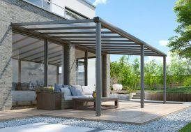 Pergola en Aluminium et Polycarbonate Gardendreams Compact Edition 15 m²
