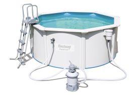 piscine acier hydrium hors sol ronde