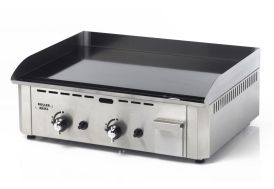 Plancha Pro 600 GEC Gaz 6400W Emaillee