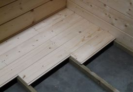 Plancher pour Abri Jardin Bois 418x388cm