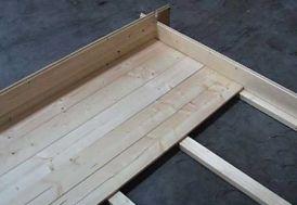 Plancher Abri de Jardin Wales 399x299
