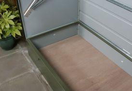 Plancher Coffre de Rangement Trimetals