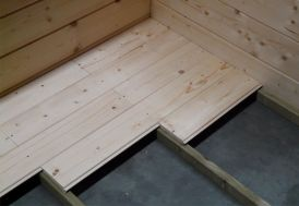 Plancher pour Abri Jardin Bois Chur et Vernier
