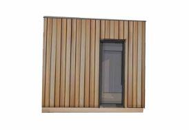 Porte Fenêtre Alu 80x215 Double Vitrage pour Bungalow Studio