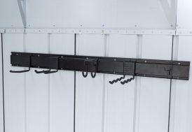 Porte-Outils en Aluminium pour Abri de Jardin Yardmaster