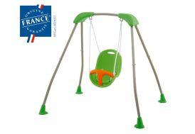 Portique Balancoire Acier Baby'K Piable 1,24m