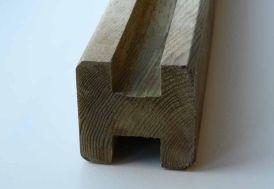 Poteaux Rainurés en Bois (7x7x240) - A partir de 5