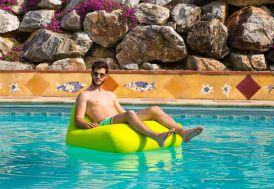 Pouf Géant pour Piscine Lazy Swimming Bag