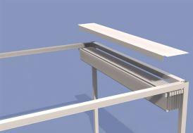 Protection Roofcover pour Pergola Prostor Cabana 3,5 x 3,5 m