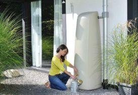 Cuve de récupération d'eau de pluie en polyéthylène fabriquée en France