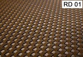 échantillon de résine tressée RD01 Marron clair
