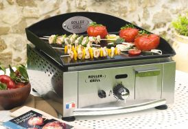 Plancha PL 400 G Gaz Simple 2750W Emaillee