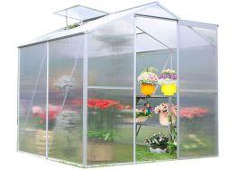 Serre de Jardin Polycarbonate 2,39 m² (188x127)