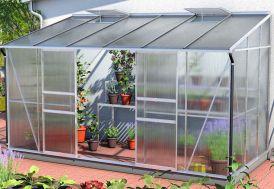 Serre de jardin en aluminium et verre trempé Lams Ida Melissa 7800