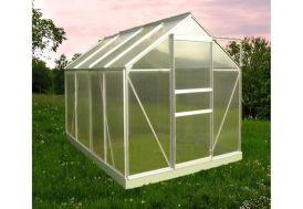 Serre de Jardin en Aluminium et Polycarbonate Alvéolaire Diamant 106