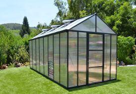 Serre de Jardin en Aluminium et Polycarbonate Glory 11,8 m²