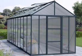 Serre de Jardin en Aluminium et Polycarbonate Glory 14,7 m²
